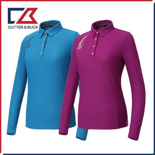 커터앤벅 여성 스판 긴팔티셔츠 - PB-11-183-201-19