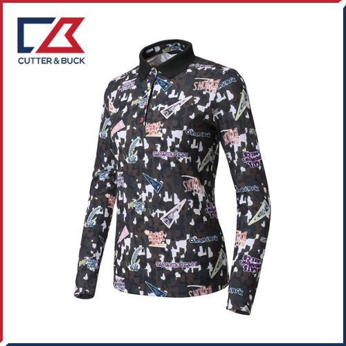 커터앤벅 여성 스판 긴팔티셔츠 - PB-11-183-201-20