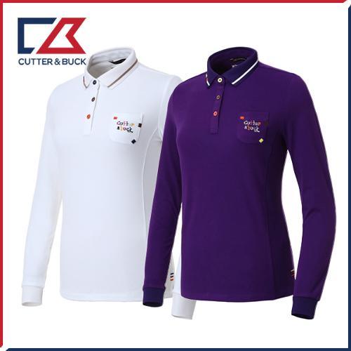 커터앤벅 여성 스판 긴팔티셔츠 - PB-11-183-201-13