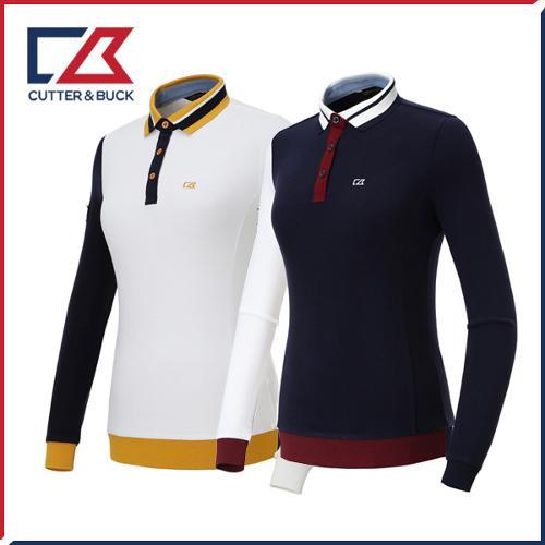 커터앤벅 여성 스판 긴팔티셔츠 - PB-11-183-201-12