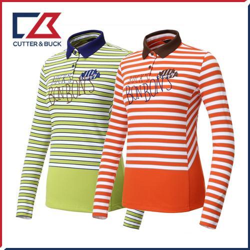 커터앤벅 여성 스판 긴팔티셔츠 - PB-11-183-201-07
