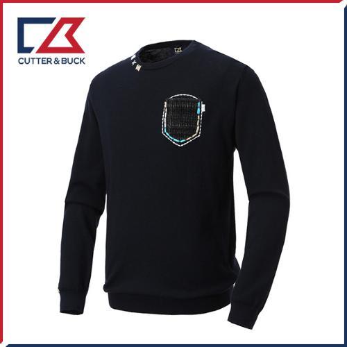 커터앤벅 남성 면 니트 스웨터 - PB-12-183-102-52