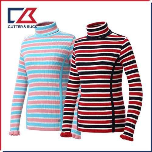 커터앤벅 여성 스판 니트 스웨터 - PB-11-184-202-03