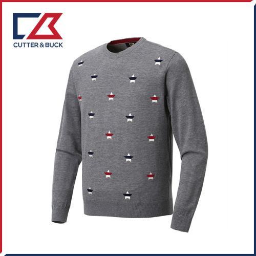 커터앤벅 남성 스판 니트 스웨터 - PB-11-183-102-01