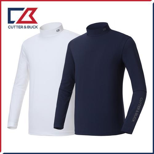 커터앤벅 남성 스판 폴라 티셔츠 - PB-11-183-101-12