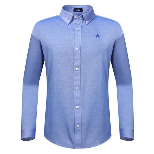 [먼싱웨어] 남성 버튼다운 티셔츠 (M9311MTL99)