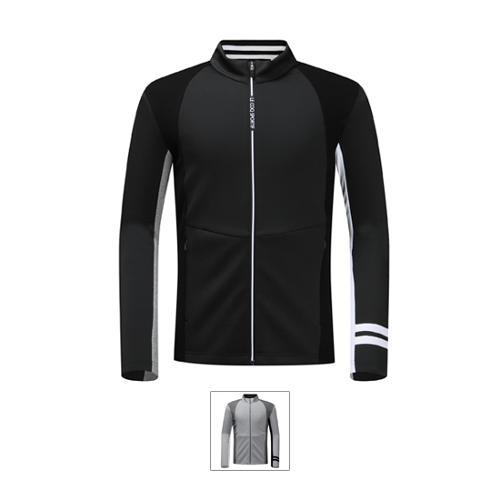 [19FW 신상]남성 스웨터 배색 져지 자켓 (G9321MCS93)