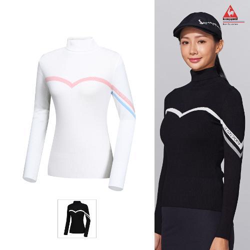 [르꼬끄골프] 여성 터틀넥 기본형 스웨터 풀오버 (G9322LKP93)