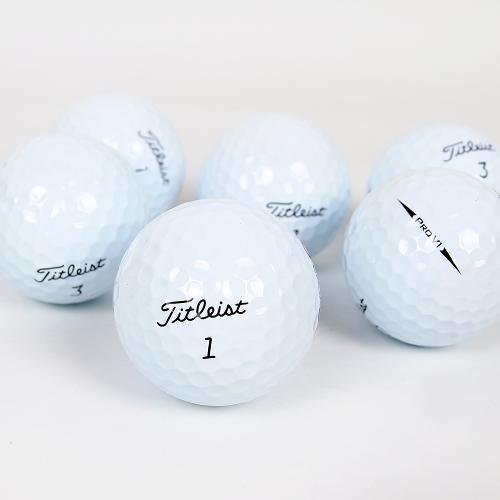 타이틀리스트 Pro V1/V1x 특A급 로스트볼 골프공 골프볼 3피스 4피스