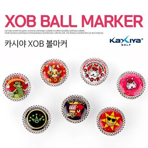 [9900원 균일가전] 카시야 XOB 캐릭터 골프 볼마커