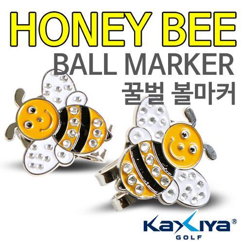 [9900원 균일가전] 카시야 큐빅 꿀벌 디자인 골프 볼마커
