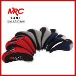 MRC GOLF 삼색 아이언커버 9개 묶음 세트 - NIC-001