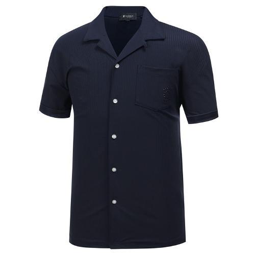[와이드앵글] 남성 JAPAN 셔츠형 티셔츠 WMM19274N4