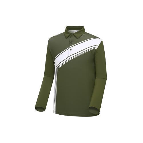 [와이드앵글] 남성 변형 배색 프린트 티셔츠 WMU18205K7