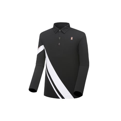 [와이드앵글] 남성 W.리미티드 카라 배색 티셔츠 WMU18207Z1