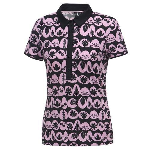 [와이드앵글] 여성 로타 콜라보패턴 반팔 티셔츠 WWU19234Z1