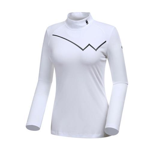 [와이드앵글] 여성 W.리미티드 하이넥 티셔츠 WWU18204W2
