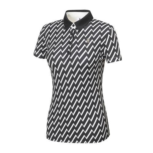 [와이드앵글] 여성 SCANDIC 패턴 프린트 반팔티셔츠 WWU18232W3