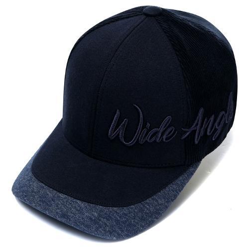 [와이드앵글] 남성 로고 스트레치 6쪽캡 WMU19C05N4