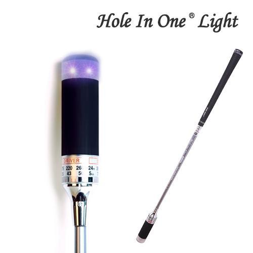 홀인원 라이트 골프 스윙연습기 연습용품 골프용품 필드용품 Hole-in-One LIGHT