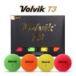 [2020년신제품]볼빅 T3 프리미엄 비비드무광 4색칼라 골프볼-12알