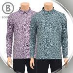 보그너 남성 패턴 긴팔티셔츠 - BN-01-193-101-02