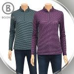 보그너 여성 패턴 긴팔티셔츠 - BN-01-193-201-21