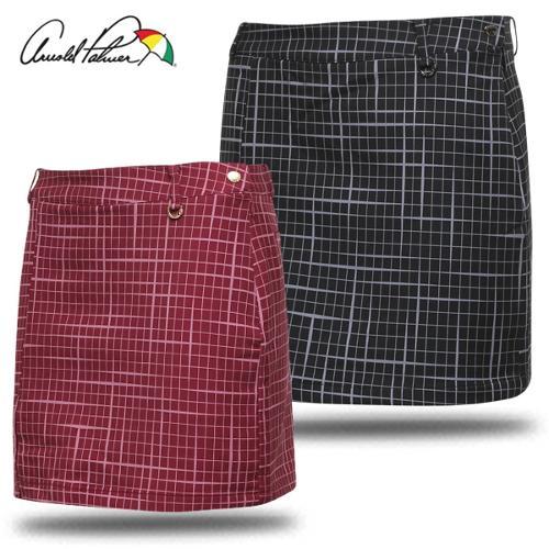 [아놀드파마] 폴리스판 온그린 패턴 여성 골프 큐롯/골프웨어_ALW7WQ10