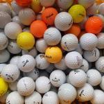 [중고] 50알 C등급 로스트볼 토탈메이커 컬러혼합 초보자용 연습용 골프공