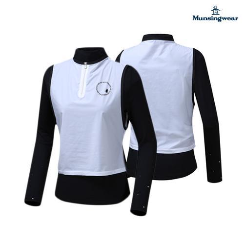 [먼싱웨어] 여성 레이어링 단품성 티셔츠 (M9322LTL93)