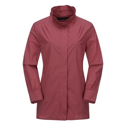 [JACKNICKLAUS] 여성 워싱 코튼 셔츠형 점퍼_LWUAA19071PIX