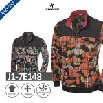 [JEAN PIERRE] 쟌피엘 시보리 나염 긴팔 티셔츠 Model No_J1-7E148