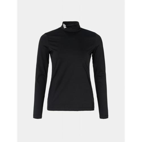 [빈폴골프] [NDL라인] 여성 블랙 원포인트 터틀넥 이너 티셔츠 (BJ9841L445)