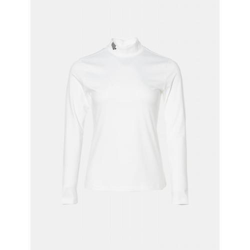 [빈폴골프] [NDL라인] 여성 화이트 원포인트 터틀넥 이너 티셔츠 (BJ9841L441)
