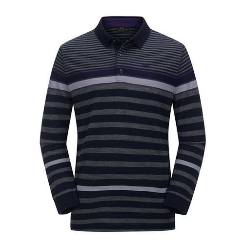 [JACKNICKLAUS] 남성 S/T 패턴 카라 티셔츠_LNTAW18111NYX