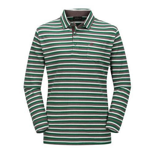 [JACKNICKLAUS] 남성 캐주얼 컬러 S/T 카라 티셔츠_LNTAW18071GRX