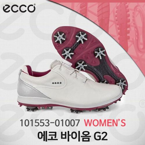 에코 101553-01007 바이옴 G2 고어텍스 골프화 여성