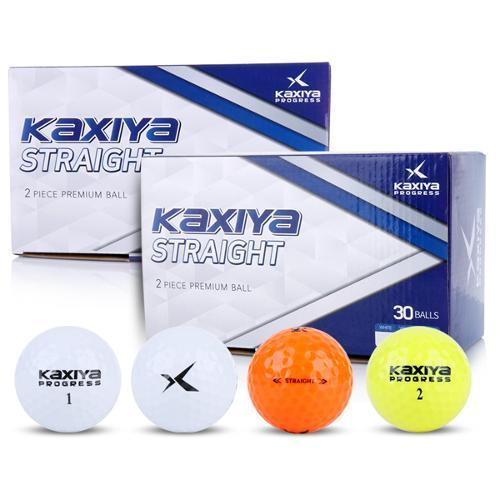 [KAXIYA] 카시야프로그레스 스트레이트 2피스 골프공 30구