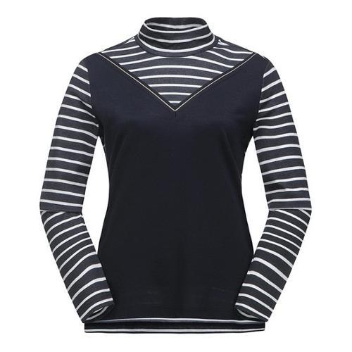 [ELORD] 여성 믹스 S/T 실켓 티셔츠_NLTBS19107NYX