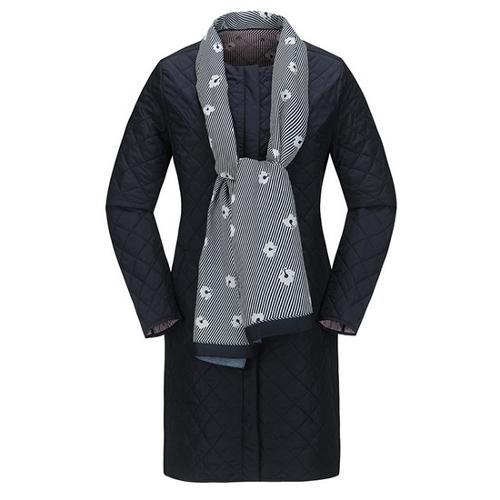 [JACKNICKLAUS] 여성 스카프 SET 패딩 점퍼_LWUAS18021NYX