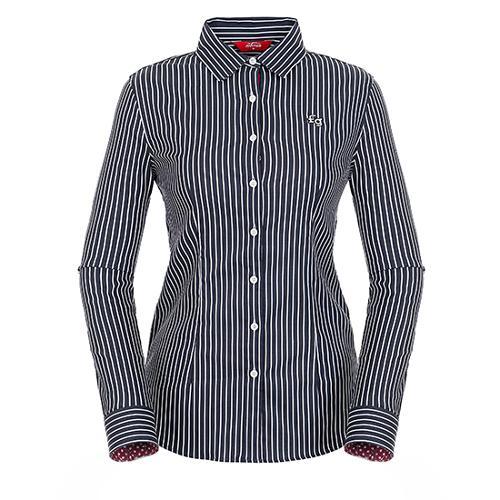 [팬텀]여성 스트라이프 코튼 셔츠 22183JS551_NA