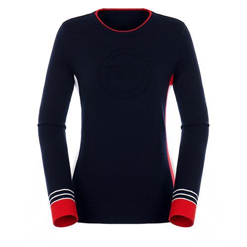 [팬텀]여성 컬러 포인트 울 스웨터 22183SR162_NA