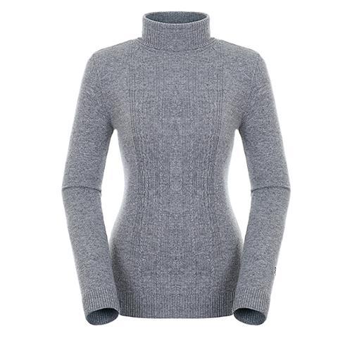 [팬텀]여성 캐시미어 혼방 케이블 스웨터 22183SN172_MG