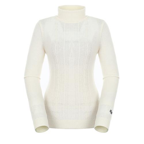 [팬텀]여성 캐시미어 혼방 케이블 스웨터 22183SN172_IV
