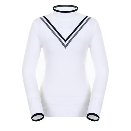 [팬텀]여성 쉐브론 라인 포인트 스웨터 22183SN173_IV