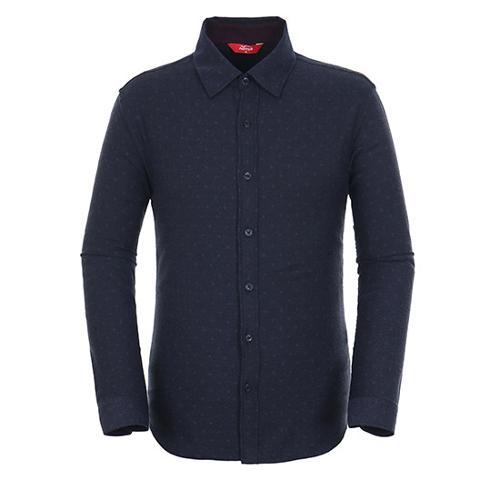 [팬텀]남성 도트 플라워 버튼다운 셔츠 21183JS503_NA