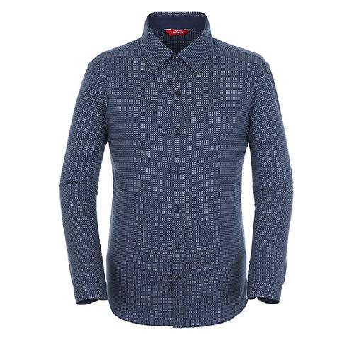 [팬텀]남성 마이크로 패턴 코튼 셔츠 21183JS502_NA