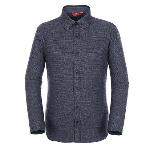 [팬텀]남성 멜란지 체크 버튼다운 셔츠 21183JS501_NA