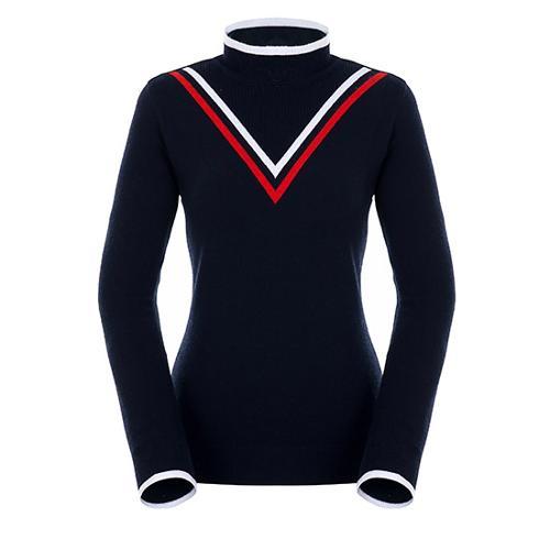 [팬텀]여성 쉐브론 라인 포인트 스웨터 22183SN173_NA