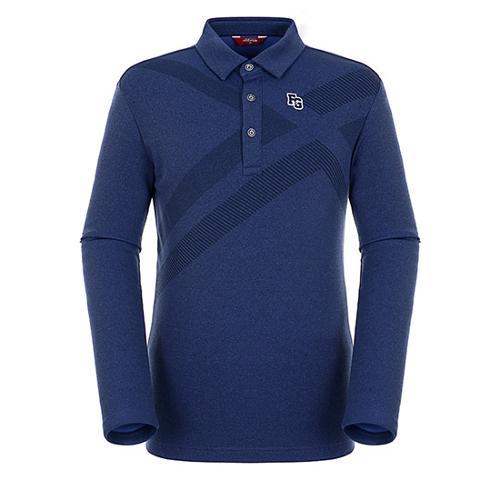 [팬텀]남성 패턴 포인트 멜란지 티셔츠 21183TO004_NA